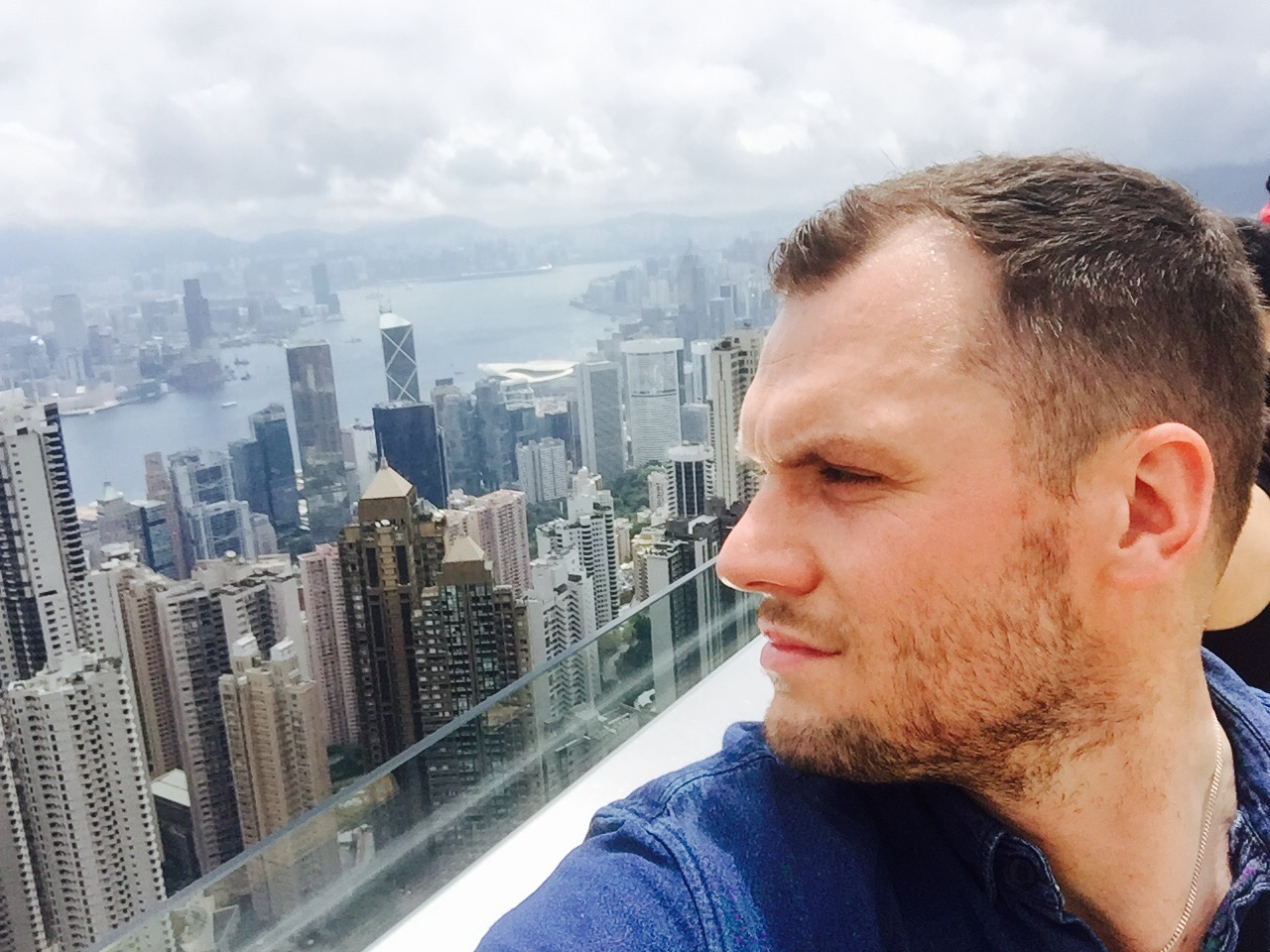 Ian Stringer in Hong Kong