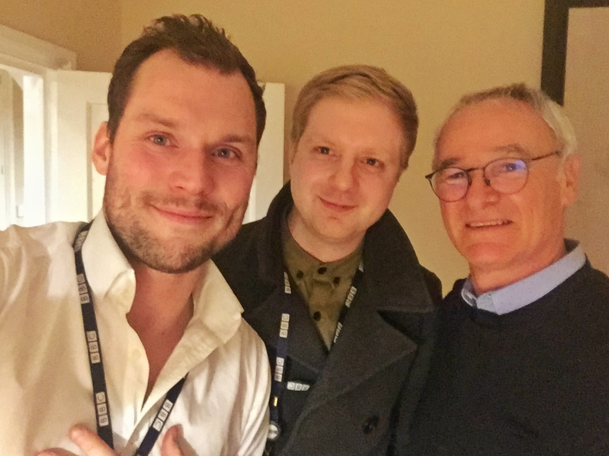 Ian Stringer, Jason Bourne and Claudio Ranieri.